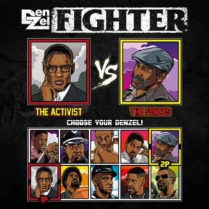 Denzel Washington Fighter - Malcolm X vs Fences
