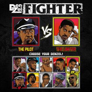 Denzel Washington Fighter - Flight vs Philadelphia