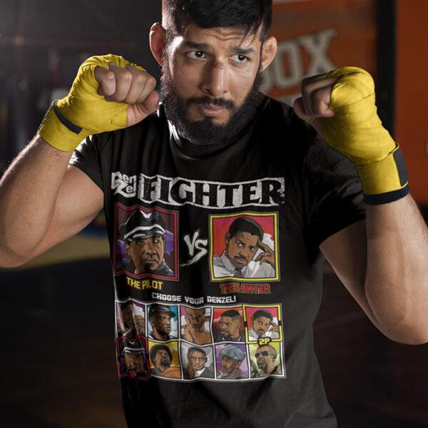 Denzel Washington Fighter - Flight vs Philadelphia T-Shirt