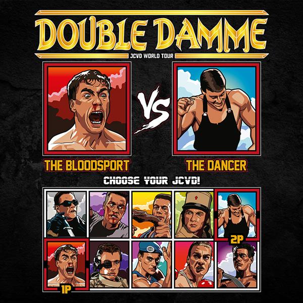 double damme jcvd world tour - bloodsport vs kickboxer