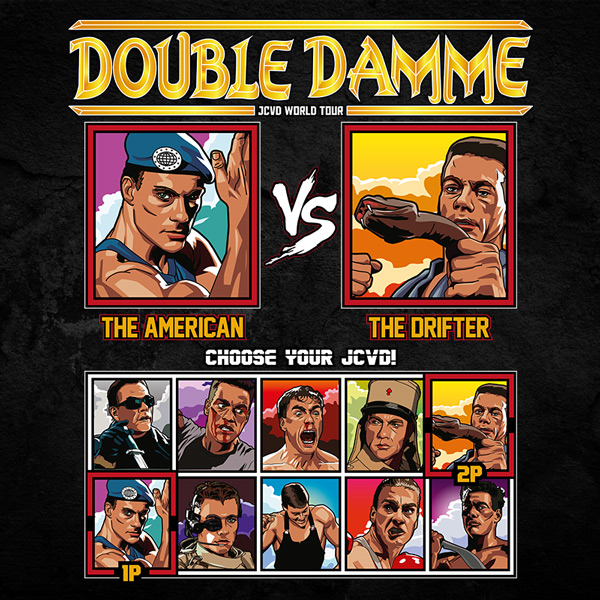 double damme jcvd world tour - street fighter vs hard target