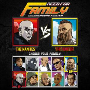 Vin Diesel Family Fighter - Bloodshot vs The Last Witch Hunter