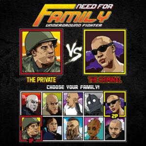 Vin Diesel Family Fighter - Saving Private Ryan vs Riddick