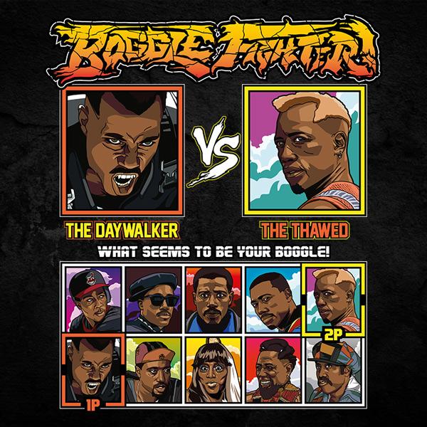 Wesley Snipes Fighter - Blade vs Demolition Man