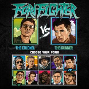 Harrison Ford Fighter - Apocalypse Now vs Bladerunner