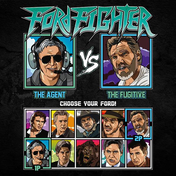 Harrison Ford Fighter - Expendables vs Fugitive