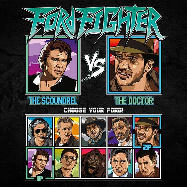 Harrison Ford Fighter - Han Solo vs Indiana Jones