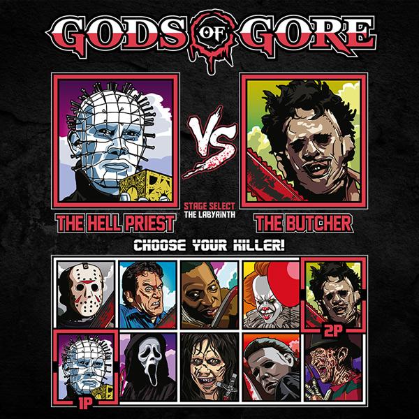 Gods of Gore - Hellraiser vs Texas Chainsaw Massacre
