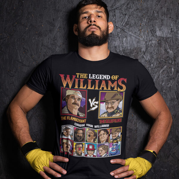 Robin Williams Fighter - Birdcage vs Night at the Museum Tee