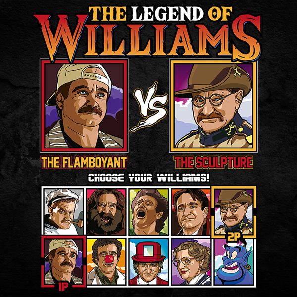 Robin Williams Fighter - Birdcage vs Night at the Museum