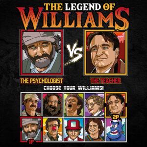 Robin Williams Fighter - Good Will Hunting vs Dead Poets Society