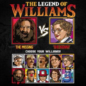 Robin Williams Fighter - Jumanji vs Mrs Doubtfire