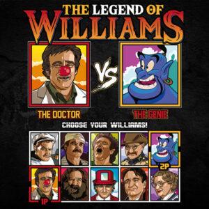 Robin Williams Fighter - Patch Adams vs Aladdin Genie