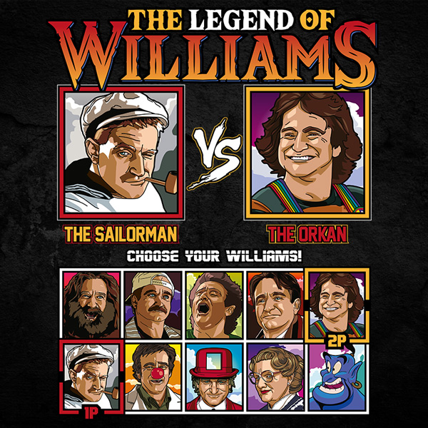 Robin Williams Fighter - Popeye vs Mork