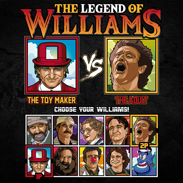 Robin Williams Fighter - Toys vs Peter Pan