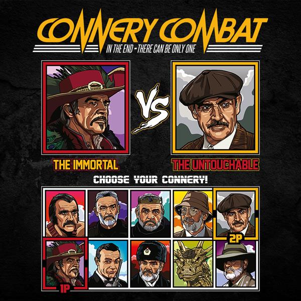 Sean Connery Combat - Highlander vs The Untouchables