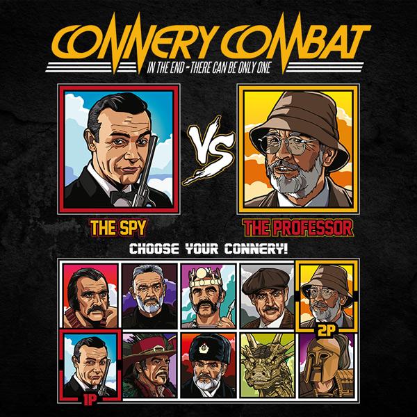 Sean Connery Combat - James Bond vs Indiana Jones