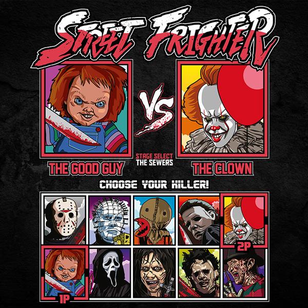 Street Frighter - Chucky vs IT Clown