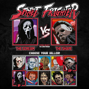 Street Frighter - Scream vs Halloween