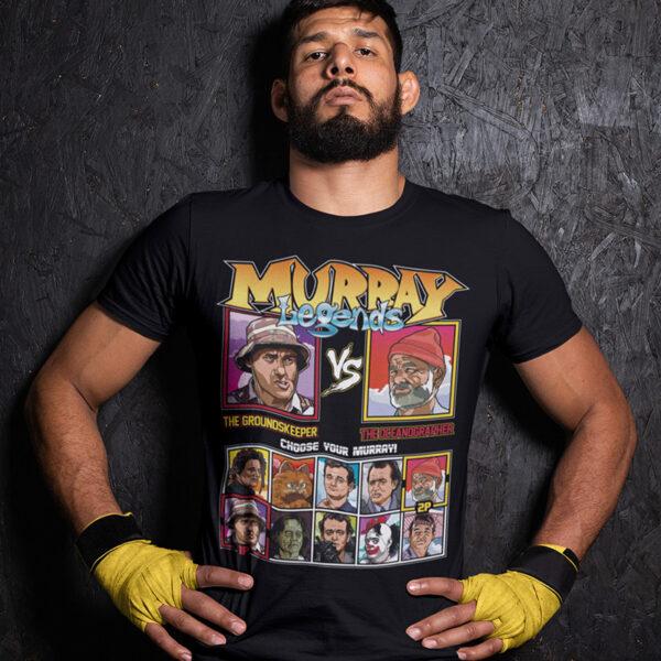 Bill Murray - Caddyshack vs Life Aquatic Tshirt