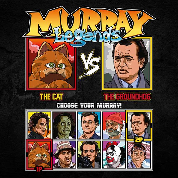 Bill Murray - Garfield vs Groundhog Day