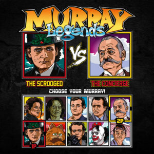 Bill Murray - Scrooged vs Grand Budapest Hotel