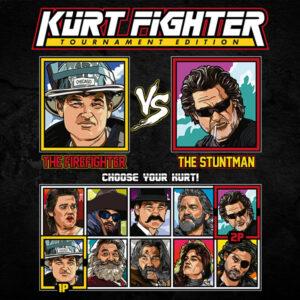 Kurt Russell Fighter - Backdraft vs Deathproof