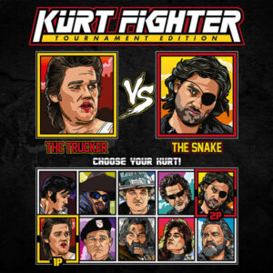 Kurt Russell Fighter - Big Trouble in Little China vs Escape From New York