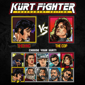 Kurt Russell Fighter - Elvis vs Tango & Cash