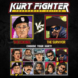 Kurt Russell Fighter - Stargate vs The Thing