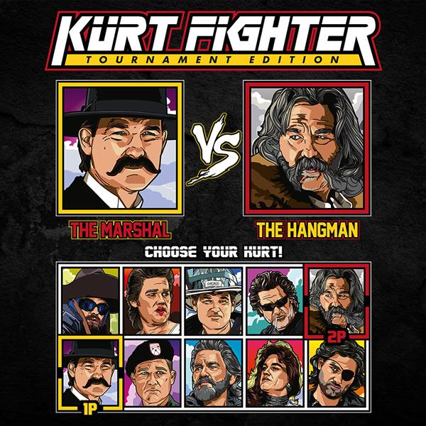 Kurt Russell Fighter - Tombstone vs The Hateful Eight