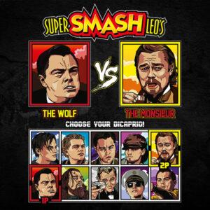 Leonardo DiCaprio Fighter T-Shirt - Wolf of Wallstreet vs Django