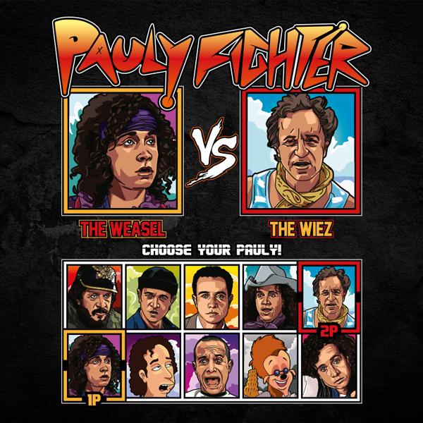 Pauly Shore Fighter - The Weasel vs The Wiez