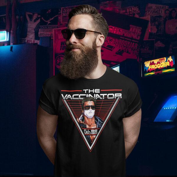 The Vaccinator - Terminator Arnie T-Shirt