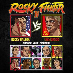 Rocky 4 Fighter - America vs Russia (USSR)