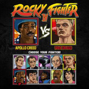 Rocky 4 Fighter - Creed vs Drago