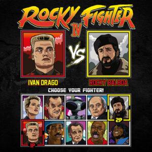 Rocky 4 Fighter - Drago vs Rocky Montage
