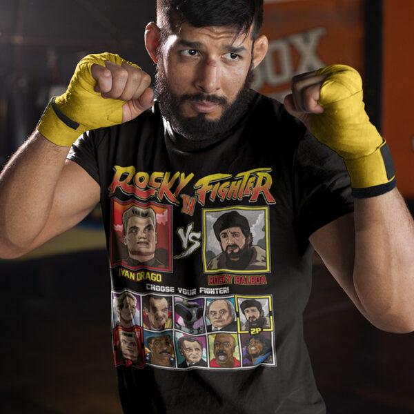 Rocky 4 Fighter - Drago vs Rocky Montage Tee