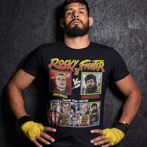 Rocky 4 Fighter - Drago vs Rocky Montage TShirt