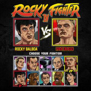 Rocky 4 Fighter - Rocky vs Drago