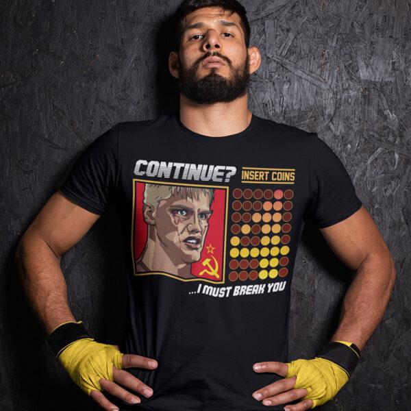 Rocky 4 - Ivan Drago Continue TShirt