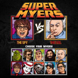 Super Mike Myers - Austin Powers vs Dr Evil
