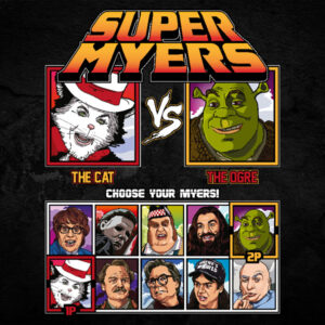 Super Mike Myers - Cat in the Hat vs Shrek
