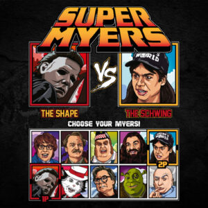 Super Mike Myers - Halloween vs Waynes World