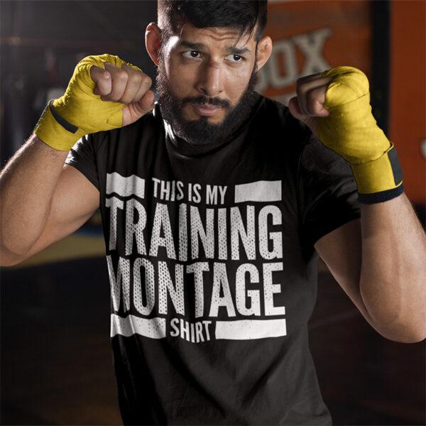 Rocky Training Montage TShirt