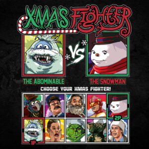 Xmas Fighter - Abominable Snowmonster vs Jack Frost