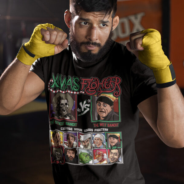 Xmas Fighter - Home Alone 2 Bandits Tee