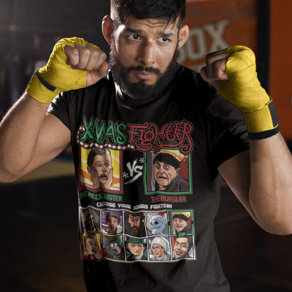 Xmas Fighter - Home Alone Tee