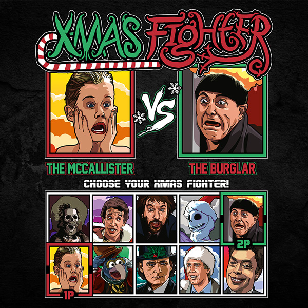 Xmas Fighter - Home Alone