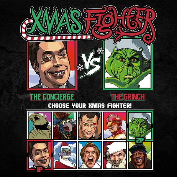 Xmas Fighter - Home Alone 2 vs Grinch